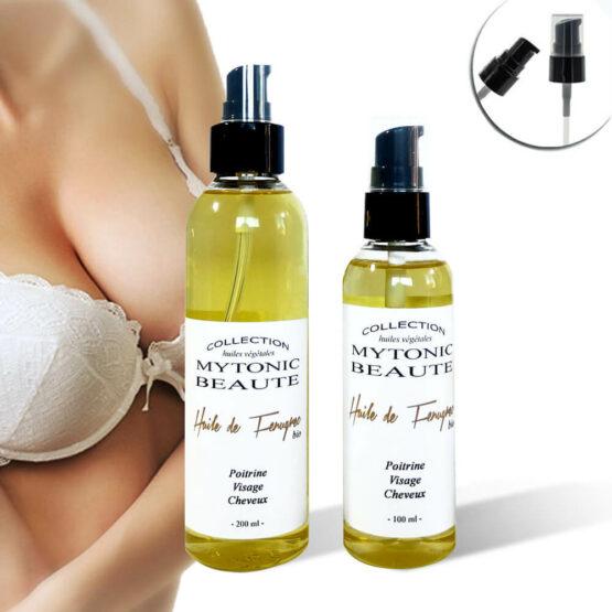 huile de fenugrec pour grossir les seins