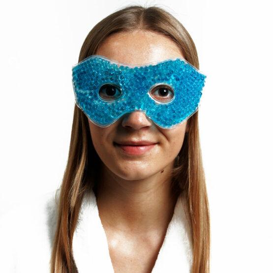 masque froid decongestionnant pour les yeux et cernes