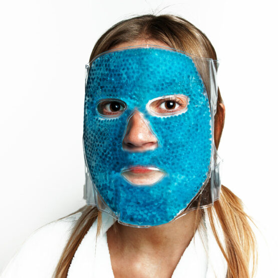 masque facial visage froid anti ride