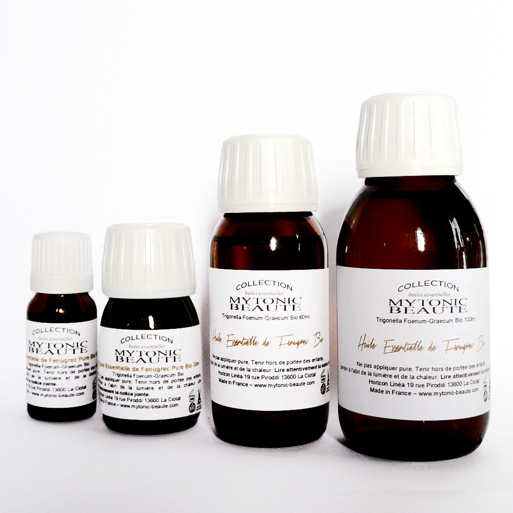 huile de fenugrec essentielle bio