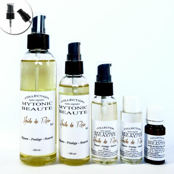 Huile de Ricin ou Castor oil, 100% végétale pour la repousse des cheveux, les ongles et vergetures