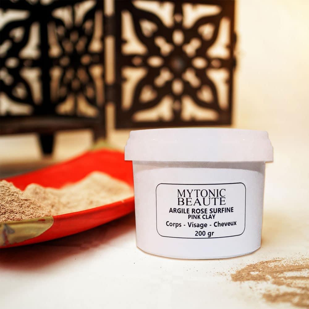 Sachet de poudre d'argile rose ultra ventilée 100 grammes