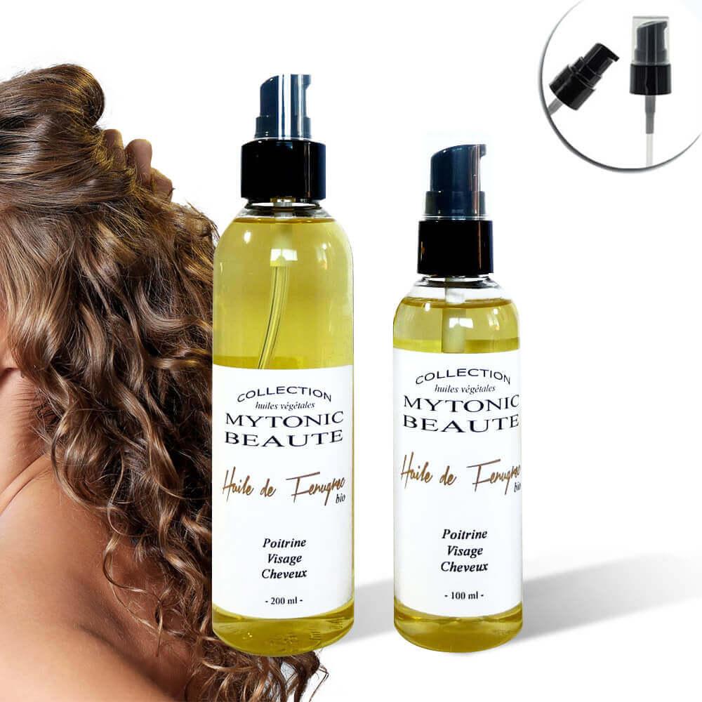 Huile de fenugrec pour cheveux flacon 300ml