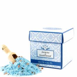 Sels de bain jasmin bois de santal cryotonic-beauté