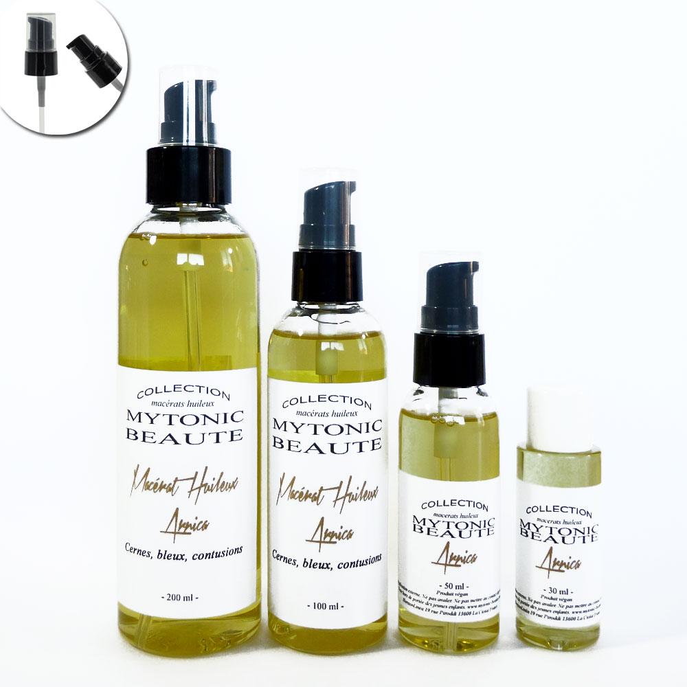 Huile d'Arnica - Macérat huile Arnica cryotonic-beaute