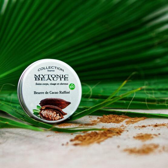 beurre de cacao bio pour la cosmétique