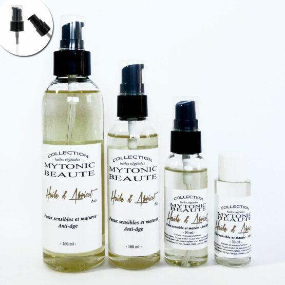 huile de moyaux d'abricots biologique