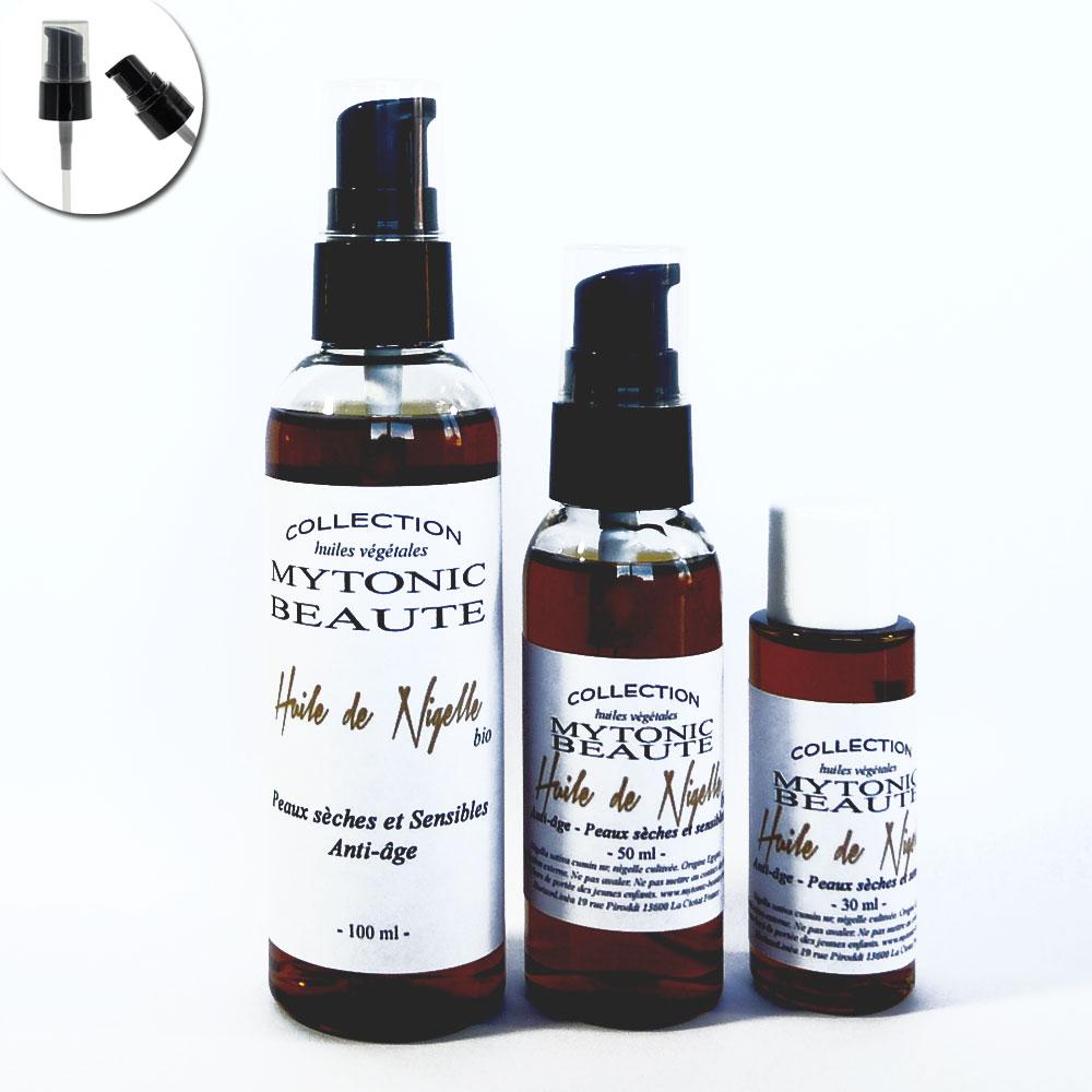 huile de nigelle bio - huile de cumin noir