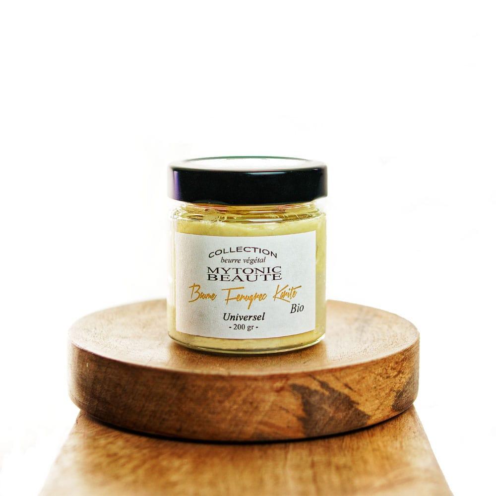 Beurre de fenugrec au karité bio pour peau corps visage cheveux